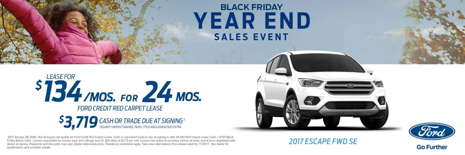 Ford Black Friday Year End Sales Event At Ray Price Stroud Ford