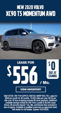 New Special - New 2020 Volvo XC90 MOMENTUM AWD AWD