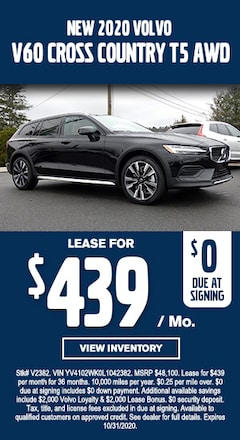 New Special - New 2020 Volvo V60 CROSS COUNTRY T5 AWD
