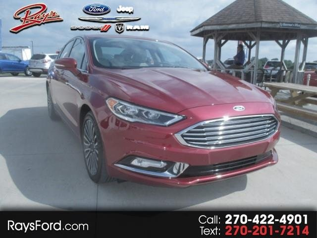 2018 Ford Fusion Titanium AWD Sedan