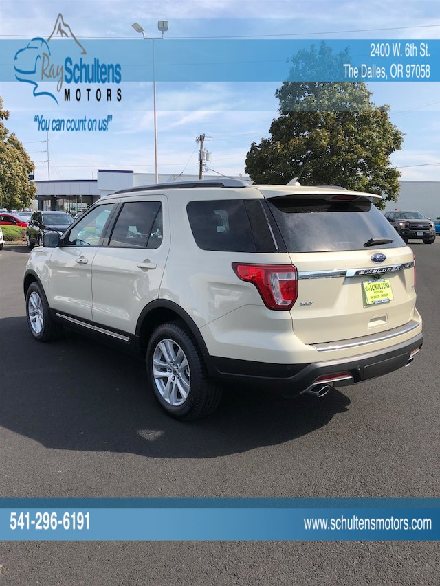 New 2018 Ford Explorer For Sale at Ray Schultens Ford Inc | VIN