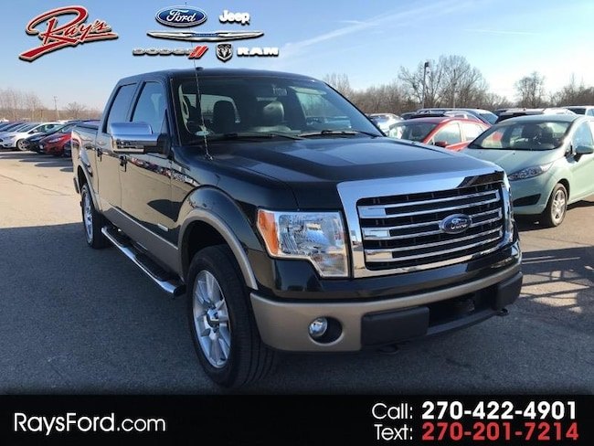 2013 Ford F-150 Lariat SuperCrew 6.5-ft Box 4WD Truck SuperCrew Cab