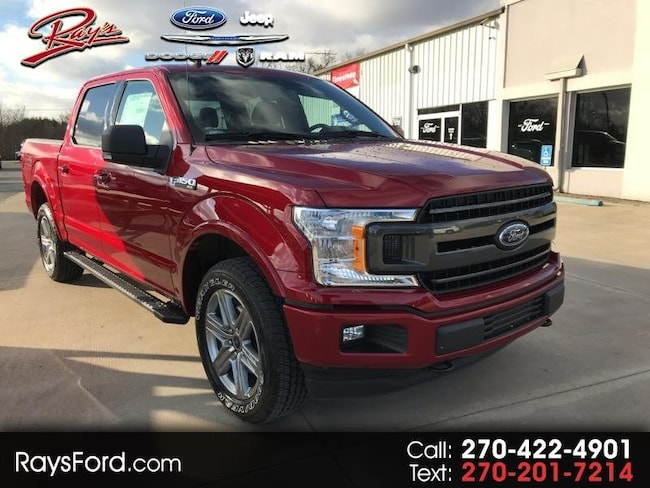 2019 Ford F-150 SuperCrew 150 XLT 4WD Truck SuperCrew Cab