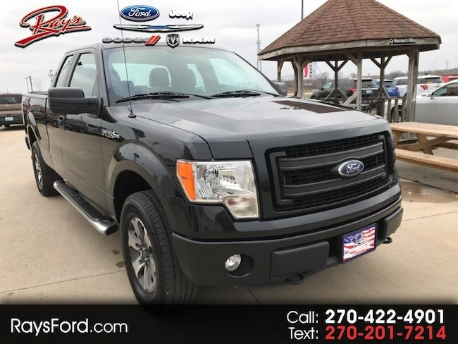 2014 Ford F-150 Supercab 145 STX 4WD Truck SuperCab Styleside