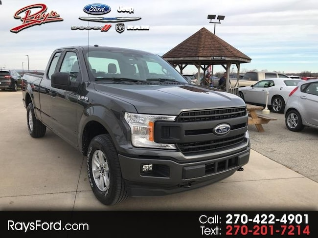 2019 Ford F-150 XL SuperCab 6.5-ft. Bed 4WD Truck SuperCab Styleside