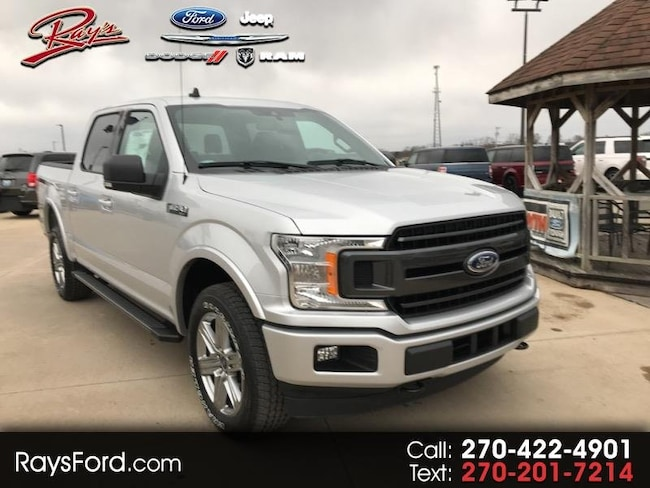 2019 Ford F-150 4WD SuperCrew 145 XLT Truck SuperCrew Cab