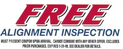Free Alignment Inspection!