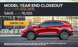 2020 Escape - January