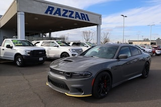 New 2019 Dodge Charger SCAT PACK RWD Sedan 2C3CDXGJ1KH518744 For Sale in Merced, CA