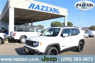 New 2018 Jeep Renegade ALTITUDE 4X2 Sport Utility ZACCJABB4JPH96794 For Sale in Merced, CA