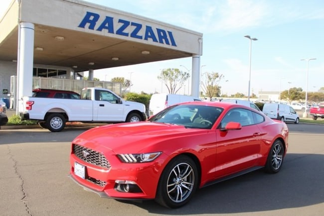 Used 2017 Ford Mustang Coupe For Sale in Merced, CA