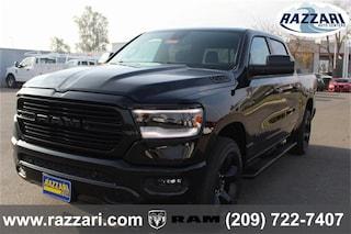 New 2019 Ram 1500 BIG HORN / LONE STAR CREW CAB 4X4 5'7 BOX Crew Cab 1C6SRFFT5KN552156 For Sale in Merced, CA