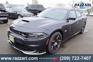 New 2019 Dodge Charger SCAT PACK RWD Sedan 2C3CDXGJ1KH605477 For Sale in Merced, CA