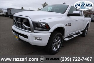 New 2018 Ram 3500 LIMITED CREW CAB 4X4 6'4 BOX Crew Cab 3C63R3FL5JG372900 For Sale in Merced, CA