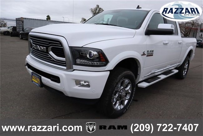 New 2018 Ram 3500 LIMITED CREW CAB 4X4 6'4 BOX Crew Cab For Sale in Merced, CA