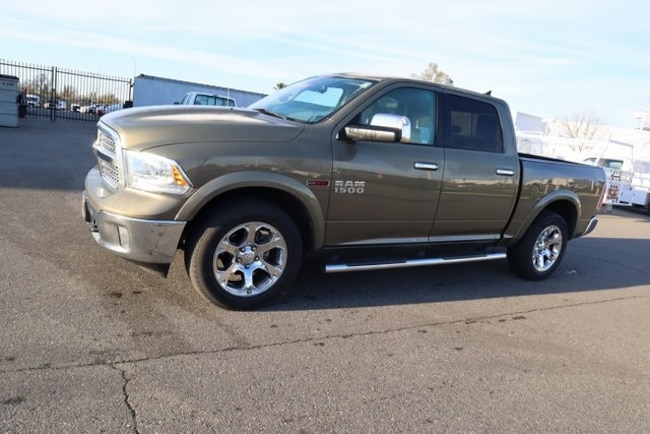 Used 2015 Ram 1500 Laramie Truck Crew Cab for sale in Merced, CA