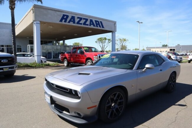 Used 2016 Dodge Challenger R/T Scat Pack Coupe For Sale in Merced, CA