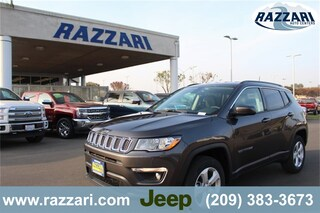 New 2019 Jeep Compass LATITUDE 4X4 Sport Utility 3C4NJDBB4KT641179 For Sale in Merced, CA