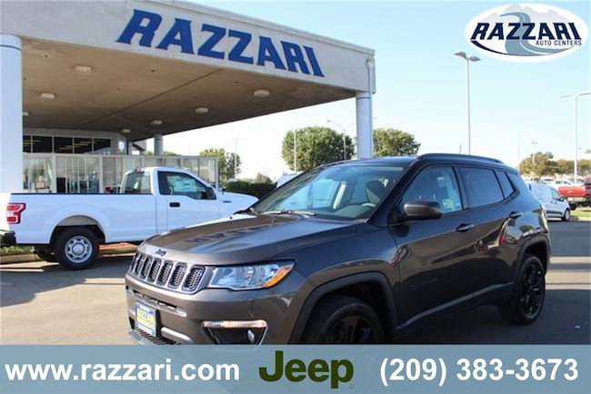 New 2019 Jeep Compass ALTITUDE 4X4 Sport Utility For Sale in Merced, CA