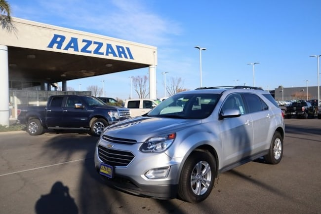 Used 2016 Chevrolet Equinox LT SUV for sale in Merced, CA