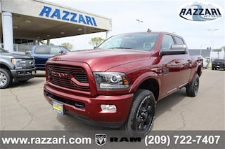 New 2018 Ram 2500 LARAMIE CREW CAB 4X4 6'4 BOX Crew Cab 3C6UR5FL9JG382295 For Sale in Merced, CA