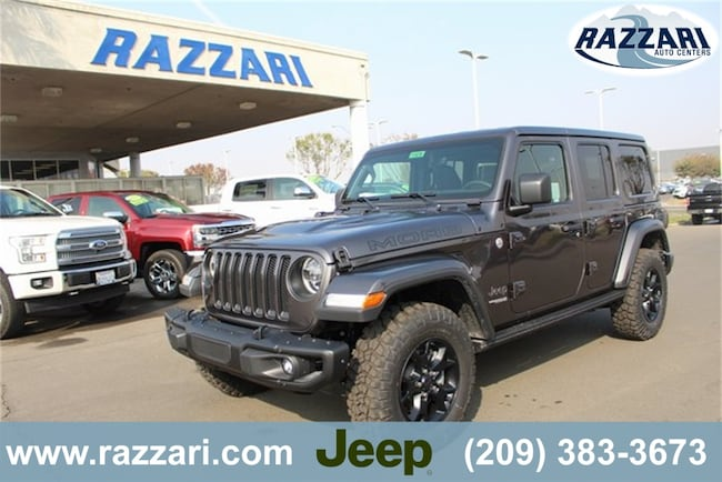 New 2018 Jeep Wrangler UNLIMITED MOAB 4X4 Sport Utility For Sale in Merced, CA