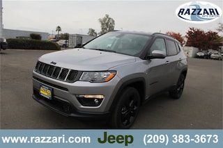 New 2019 Jeep Compass ALTITUDE 4X4 Sport Utility 3C4NJDBB8KT640018 For Sale in Merced, CA