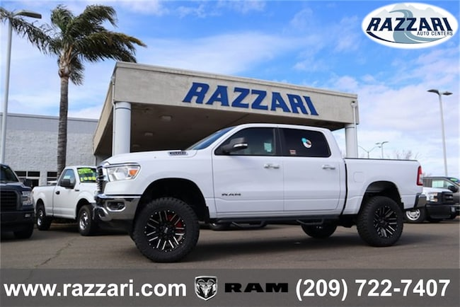 New 2019 Ram 1500 BIG HORN / LONE STAR CREW CAB 4X4 5'7 BOX Crew Cab For Sale in Merced, CA