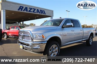 New 2018 Ram 3500 LARAMIE CREW CAB 4X4 8' BOX Crew Cab 3C63R3JL1JG372898 For Sale in Merced, CA