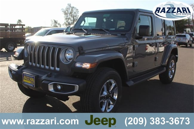 New 2018 Jeep Wrangler UNLIMITED SAHARA 4X4 Sport Utility For Sale in Merced, CA