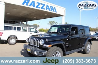 New 2018 Jeep Wrangler UNLIMITED SAHARA 4X4 Sport Utility 1C4HJXEG0JW306144 For Sale in Merced, CA