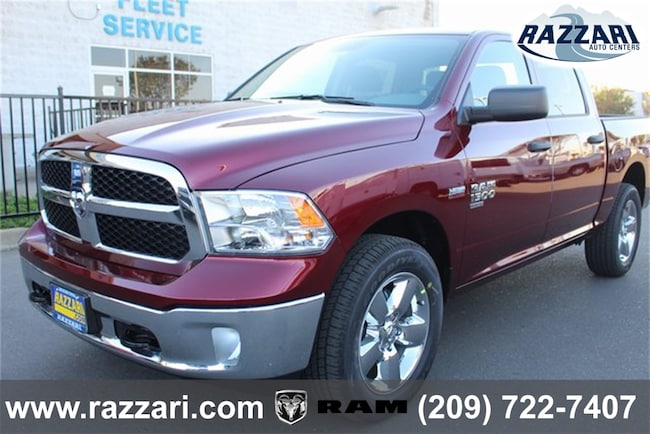 New 2019 Ram 1500 CLASSIC TRADESMAN CREW CAB 4X4 5'7 BOX Crew Cab For Sale in Merced, CA
