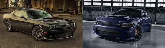 Charger Vs Challenger >> Dodge Challenger Vs Dodge Charger Comparison