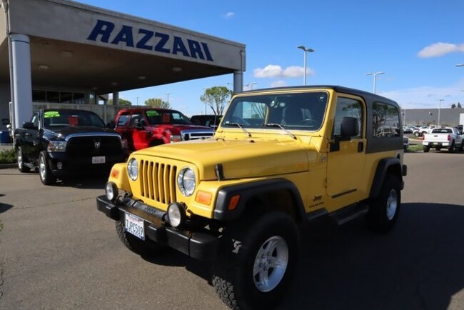 Used 2006 Jeep Wrangler Unlimited SUV For Sale in Merced, CA