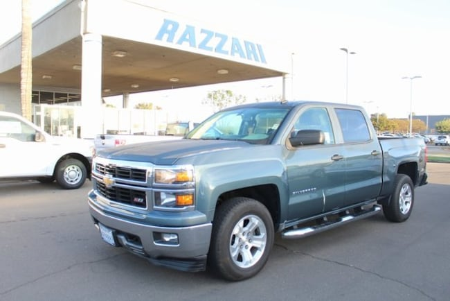 Used 2014 Chevrolet Silverado 1500 LT Truck Crew Cab for sale in Merced, CA