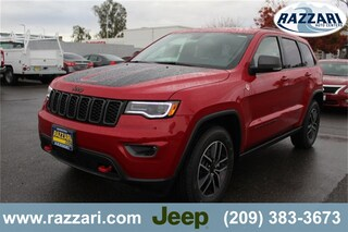 New 2019 Jeep Grand Cherokee TRAILHAWK 4X4 Sport Utility For Sale in Merced, CA