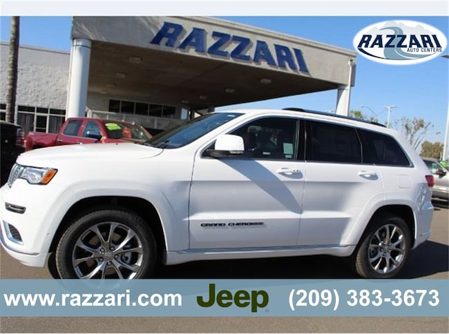 New 2019 Jeep Grand Cherokee LIMITED X 4X2 Sport Utility For Sale in Merced, CA