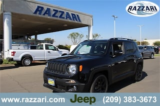 New 2018 Jeep Renegade ALTITUDE 4X2 Sport Utility For Sale in Merced, CA