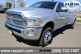 New 2018 Ram 3500 LARAMIE CREW CAB 4X4 8' BOX Crew Cab 3C63RRJL6JG372897 For Sale in Merced, CA