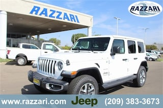 New 2018 Jeep Wrangler UNLIMITED SAHARA 4X4 Sport Utility 1C4HJXEN5JW176554 For Sale in Merced, CA