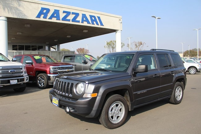 Used 2016 Jeep Patriot Sport SUV For Sale in Merced, CA