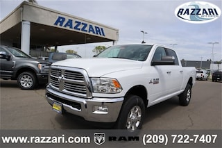 New 2018 Ram 2500 BIG HORN CREW CAB 4X4 6'4 BOX Crew Cab 3C6UR5DL9JG381876 For Sale in Merced, CA