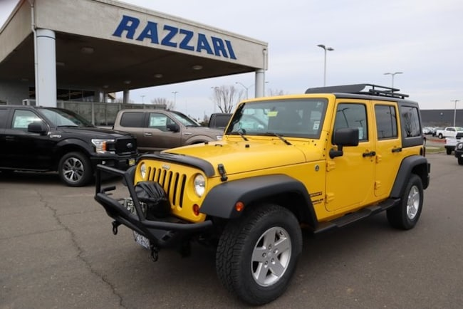 Used 2011 Jeep Wrangler Unlimited Sport SUV For Sale in Merced, CA