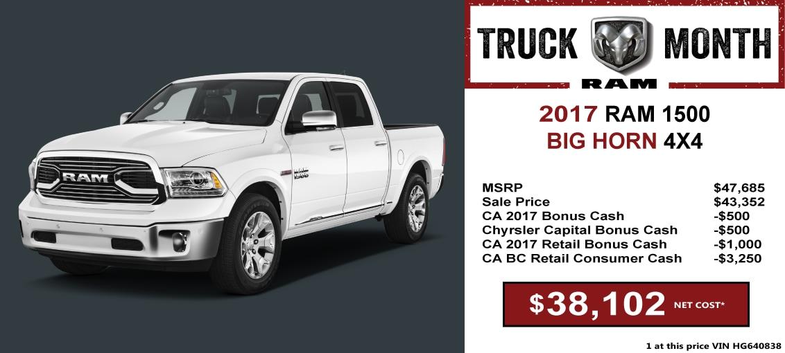 2017 Ram 1500 Truck in Merced, CA | Razzari Chrysler