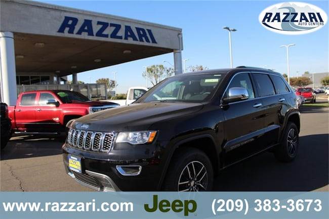 New 2018 Jeep Grand Cherokee LIMITED 4X4 Sport Utility for sale in Merced, CA