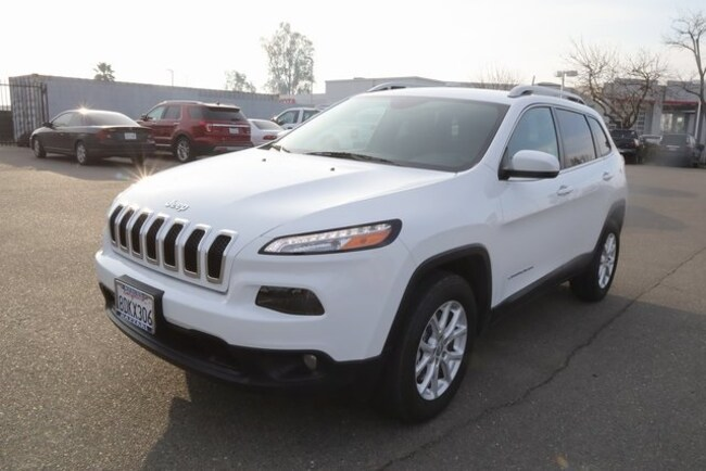 Used 2017 Jeep Cherokee Latitude 4x4 SUV For Sale in Merced, CA
