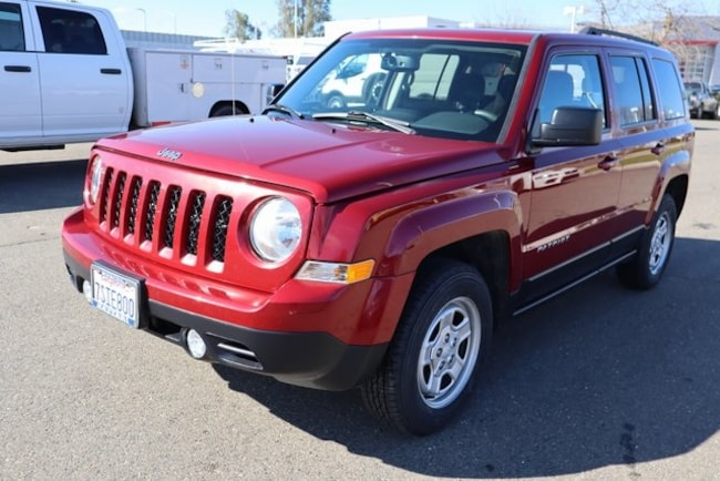 Used 2016 Jeep Patriot Sport 4x4 SUV For Sale in Merced, CA