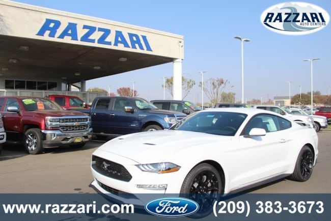New 2019 Ford Mustang Ecoboost Coupe For Sale in Merced, CA