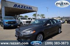 New 2019 Ford Fusion Hybrid SE Sedan for sale in Merced, CA