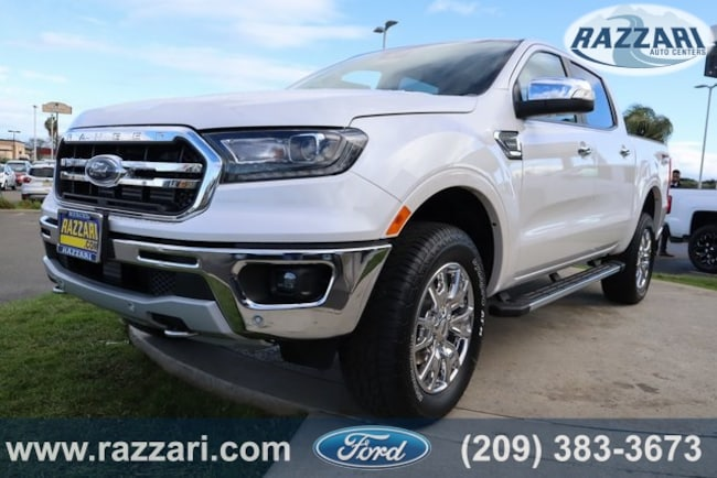New 2019 Ford Ranger Lariat Truck For Sale in Merced, CA